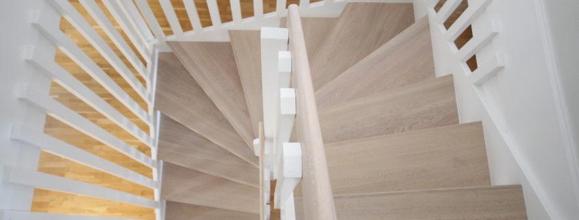 Måla trappa inomhus